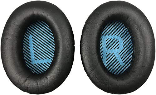 Replacement Ear Pads Earpads for Bose QuietComfort QC 2 15 25 35 Ear Cushion for QC2 QC15 QC25 QC35 SoundLink SoundTr...