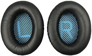 Replacement Ear-Pads for Bose QuietComfort QC 2 15 25 35 Ear Cushions for QC2 QC15 QC25 QC35 SoundLink/SoundTrue Arou...