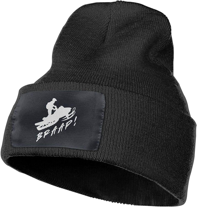 sudoki Braap Knitted brimless hat for Both Men and Women Winter Beanie Black