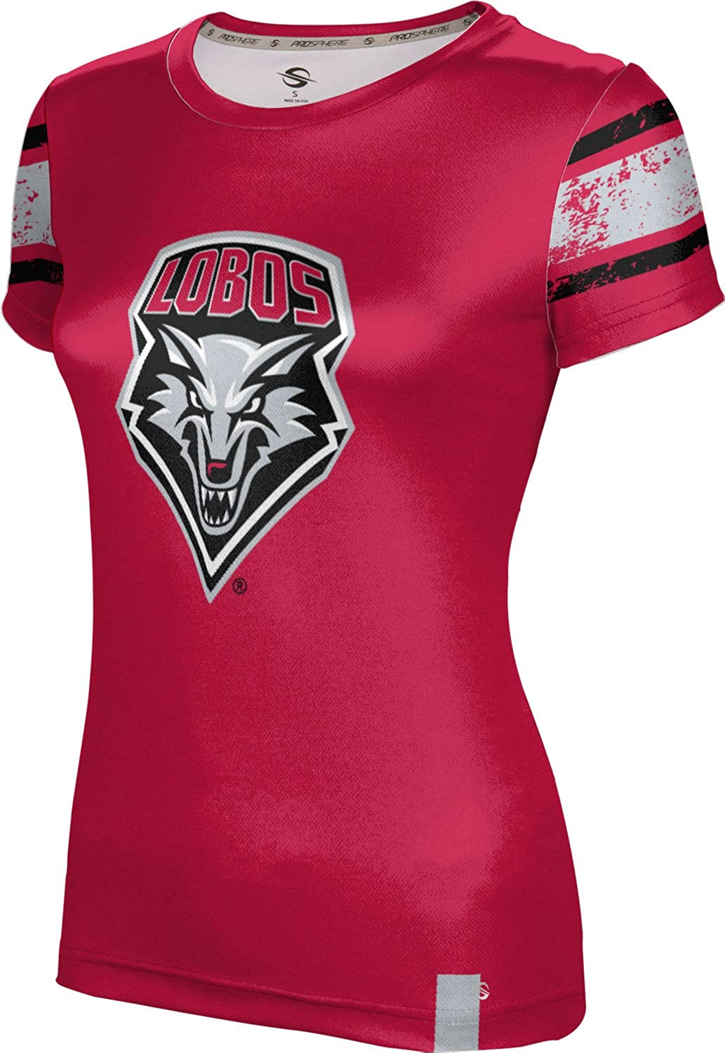 ProSphere University of New Mexico Girls' Performance T-Shirt (End Zone)