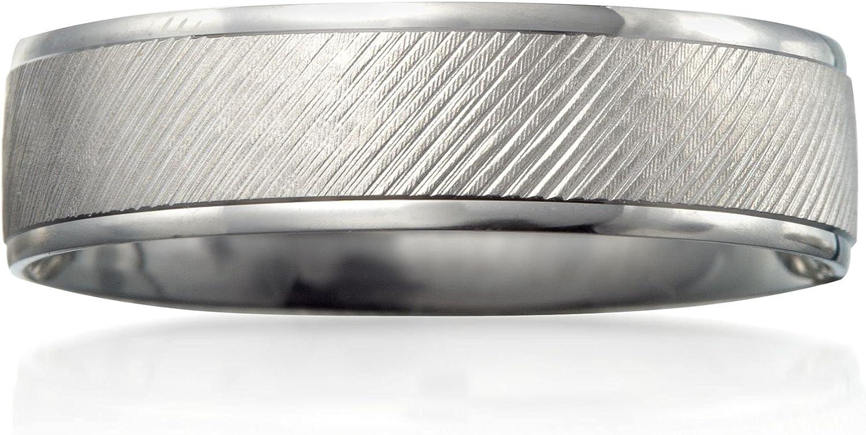 Ross-Simons Men's 6mm 14kt White Gold Wedding Ring