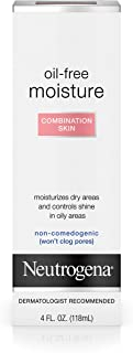 Neutrogena Oil-Free Moisture, Combination Skin, 4 Ounce