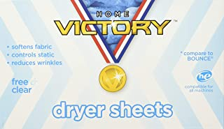 Home Victory Dryer Sheets, Free & Clear, 240Count