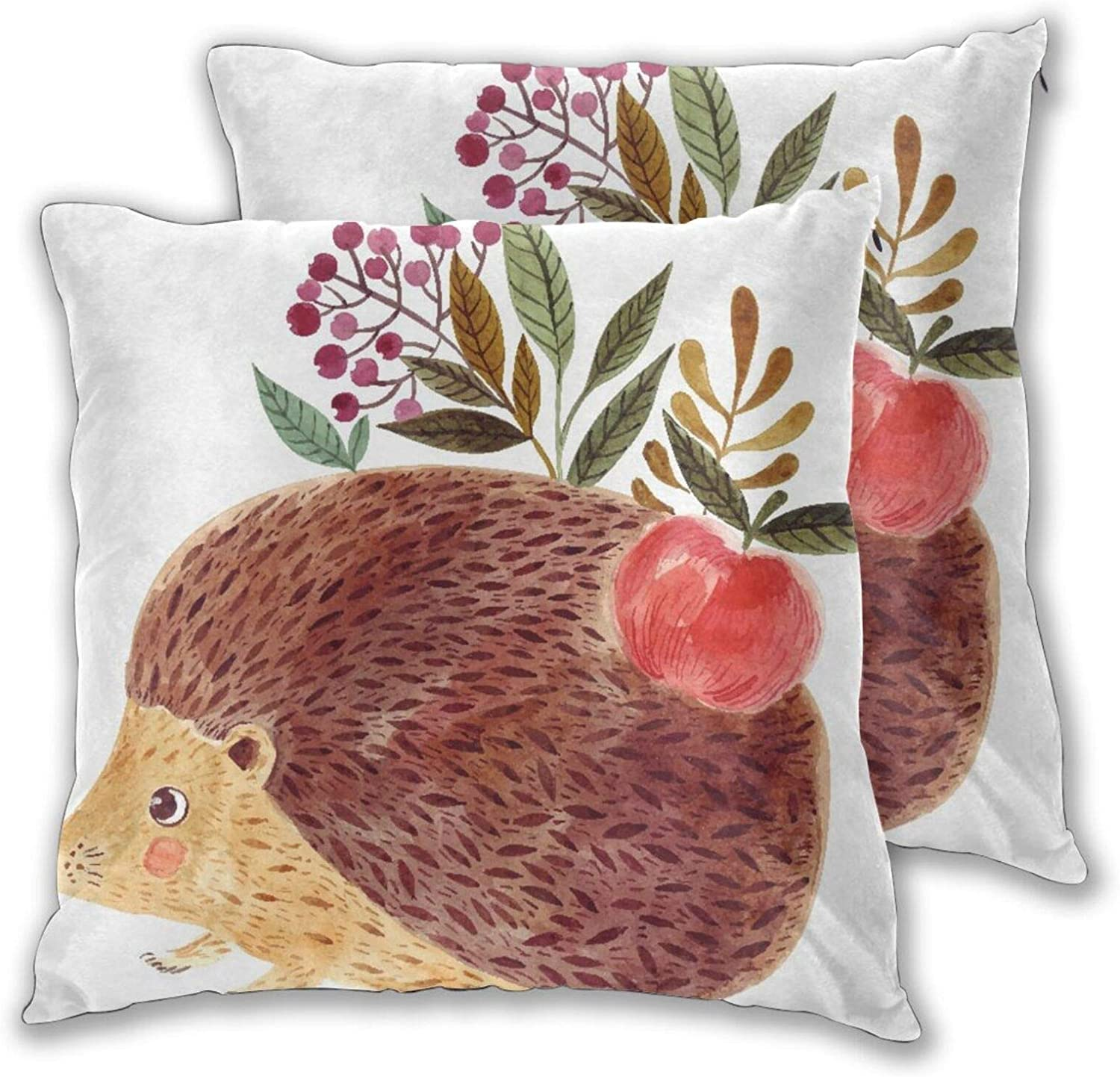 TISAGUER Throw Pillow Ranking TOP20 Covers Set of Illustra Hand Animer and price revision 2 Cute Painted