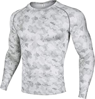f6d1272be6c2 Xtextile Men's Compression Camouflage Undershirt Cool Dry Baselayer Long  Sleeve Shirts