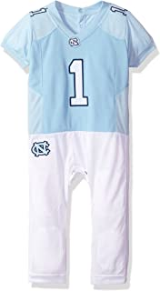 FAST ASLEEP NCAA Boys Infant Football Uniform Pajamas