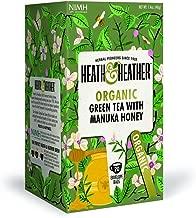 Heath & Heather Organic Green Tea & Manuka Honey (Pack of 3)
