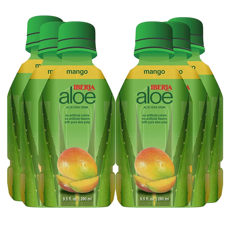 Bargain sale Iberia Aloe Vera Juice Drink Mango of Fl Pack 9.5 6 Oz Max 56% OFF