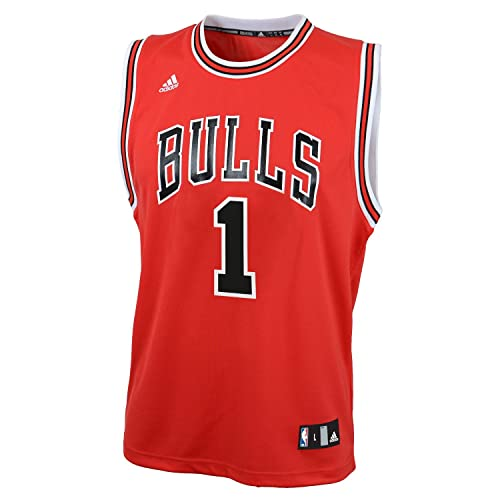 92f29f12e75 NBA Chicago Bulls Derrick Rose Replica Road Youth Jersey