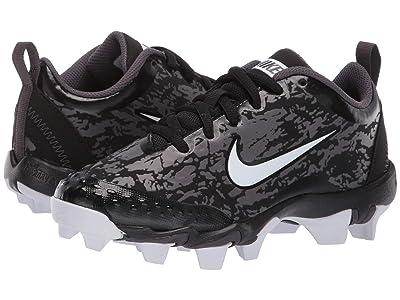 Nike Kids Hyperdiamond 2.5 Keystone Baseball (Toddler/Little Kid/Big Kid) (Black/White/Thunder Grey) Kids Shoes