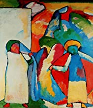 Posterazzi Improvisation no.6 (African) 1909 Poster Print by Wassily Kandinsky (18 x 24)
