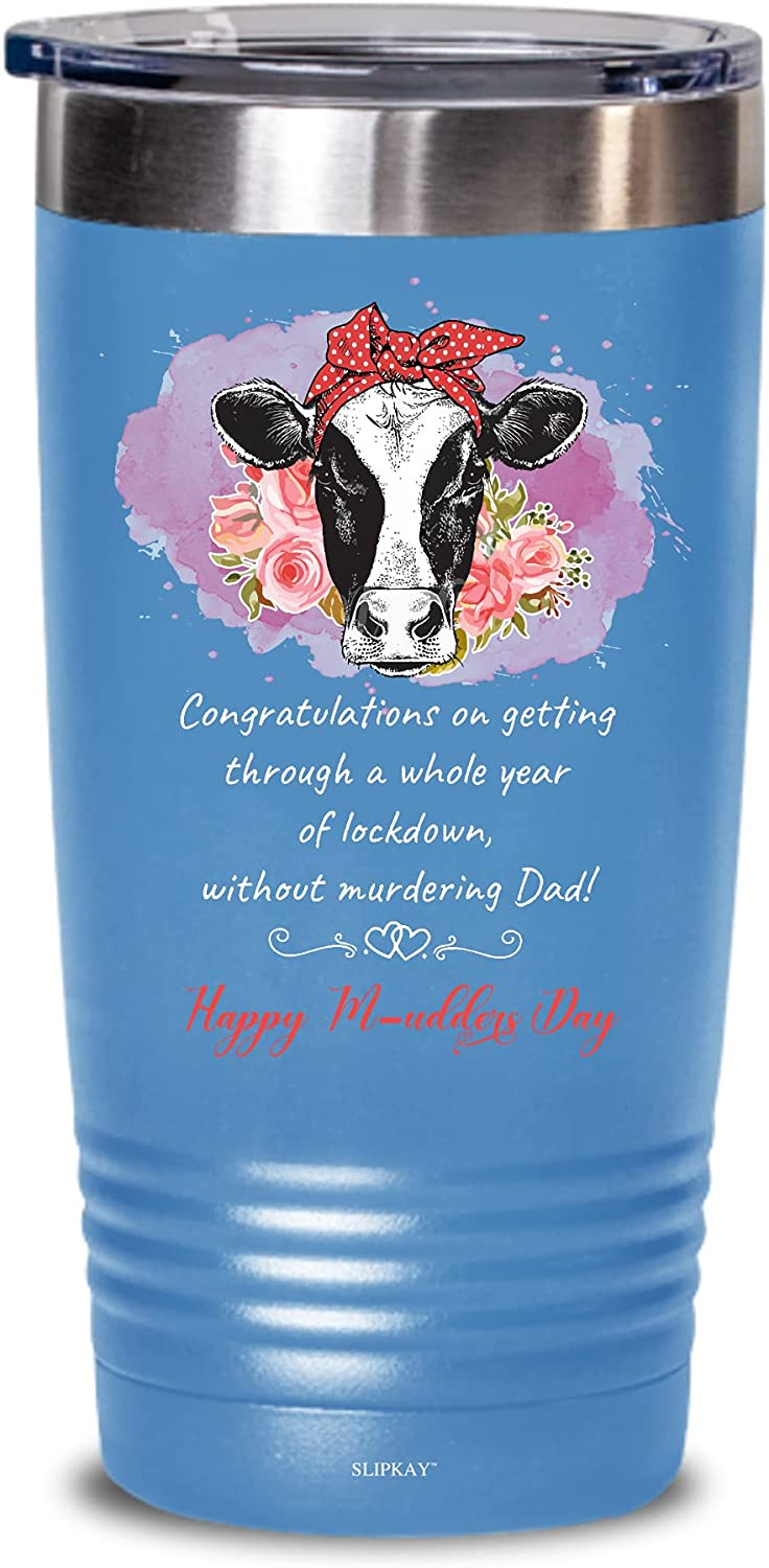 A Whole All items free shipping Year Of Lockdown Happy Credence 20oz Tumbler M-udders Gifts Day