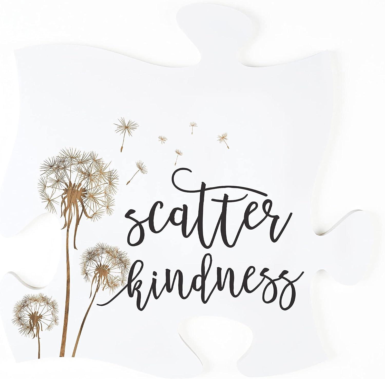 P. Seattle Mall Graham Dunn Scatter Kindness Dandelion x White Puz Ranking TOP9 12 Wood