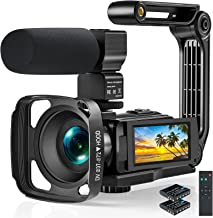 Sponsored Ad - Video Camera 2.7K Camcorder, 1520P Ultra HD 36MP Digital YouTube Camera with Microphone and Remote Control ...