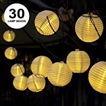 Prosperveil camino impermeables fiesta decoraci/ón del hogar valla patio Farolillos solares LED de 12 pulgadas para exteriores para jard/ín