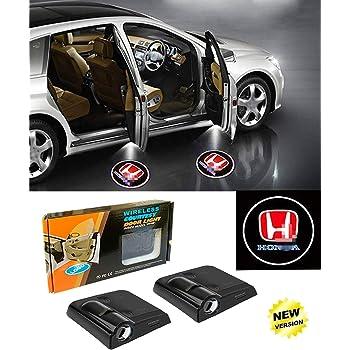 KENPENRI LED Car Door Logo Light for Mitsubishi Shadow Courtesy Laser Projector Welcome Lamp 2pcs