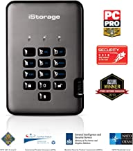 iStorage IS-DAP2-256-2000-C-G - Disco Duro cifrado Portable (2 TB) Color Negro