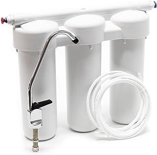 Naturewater NW-PRG03 Filtro de agua 3-Etapas de instalación bajo encimera Sedimentos Cabón activado