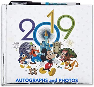 2019 Walt Disney World Autographs and Photographs Book with Pen