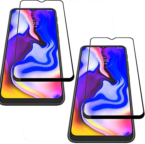 Pack Of 2 With 11D 6D Black Full Screen Edge To Edge Tempered Glass For Moto E7 Plus Moto E7 Plus Edge To Edge Temper Glass By Candeal Mart