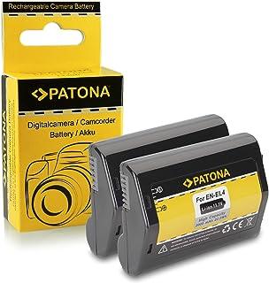 2x Batería EN-EL4 / EN-EL4a para Nikon D2H | D2Hs | D2X | D2Xs | D3 | D3s | D3X | F6