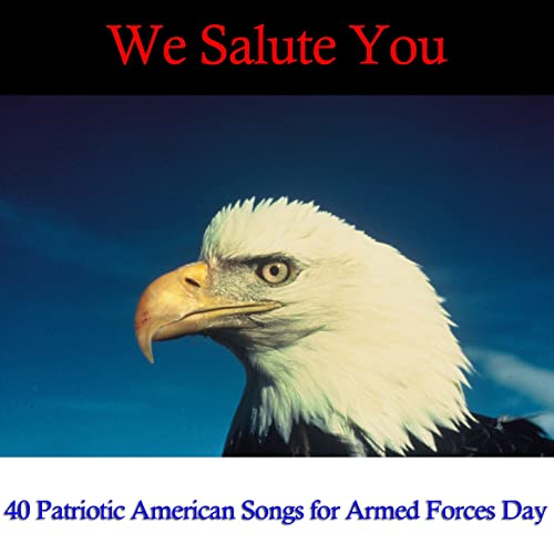 We Salute You: 40 Patriotic American Songs for Armed Forces