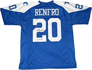 Mel Renfro Autographed Signed Dallas Cowboys #20 Throwback Jersey Tristar