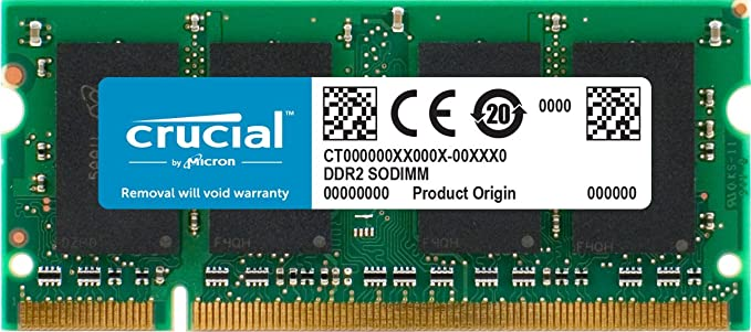 RAM Memory Upgrade for The DFI CT132-B PC2-3200 2GB DDR2-400