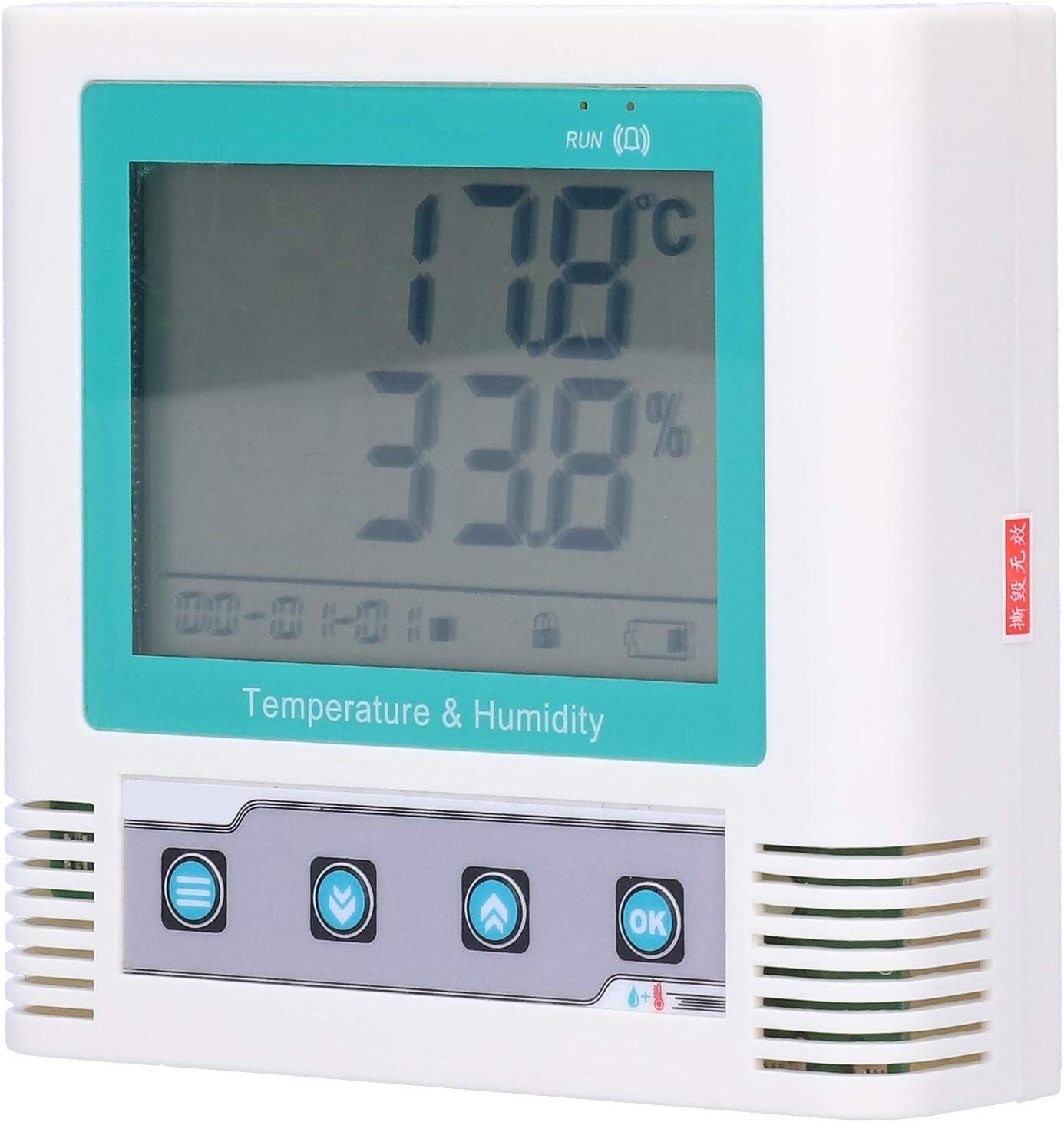 Quality inspection Socobeta Temperature Recorder LCD Data Humidity Digital Overseas parallel import regular item