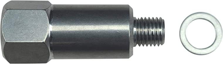 ICT Billet LS Engine Swap M12 1.5 Adapter to 3/8 NPT Extended Length Coolant Temperature Sensor Adapter Water LS Engine Swap LS1 LS3 LS2 LQ4 LQ9 LS6 L92 L99 L33 LR4 551179L