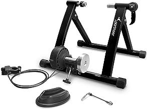 Sportneer Fietstrainer, fiets rollentrainer staal fiets oefening magnetische standaard met geluid reductie wiel