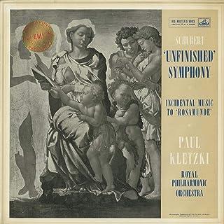 シューベルト Schubert 交響曲8番 未完成 Unfinished ロザムンデ Rosamunde Op.26~序曲 間奏曲3番 バレエ音楽2番 HMV ASD 296 UK ED1 Original