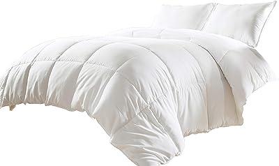 Cozy Beddings BHB1149-K Down Alternative Comforter, King, White