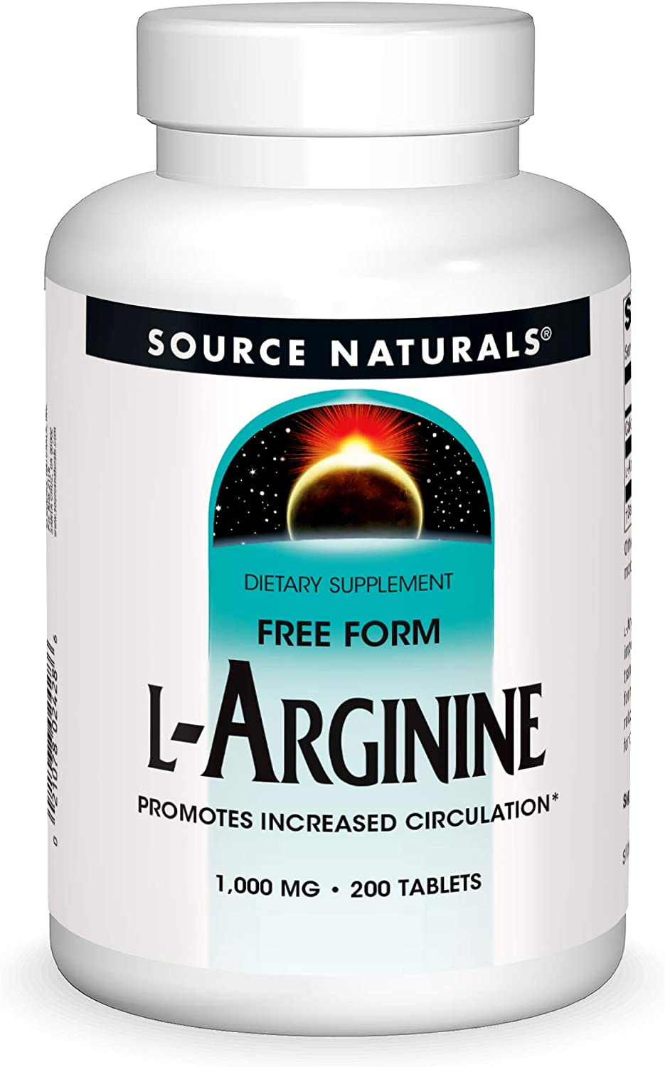 Source Naturals High order L-Arginine 1000 mg All items free shipping Promotes and Free Increa Form