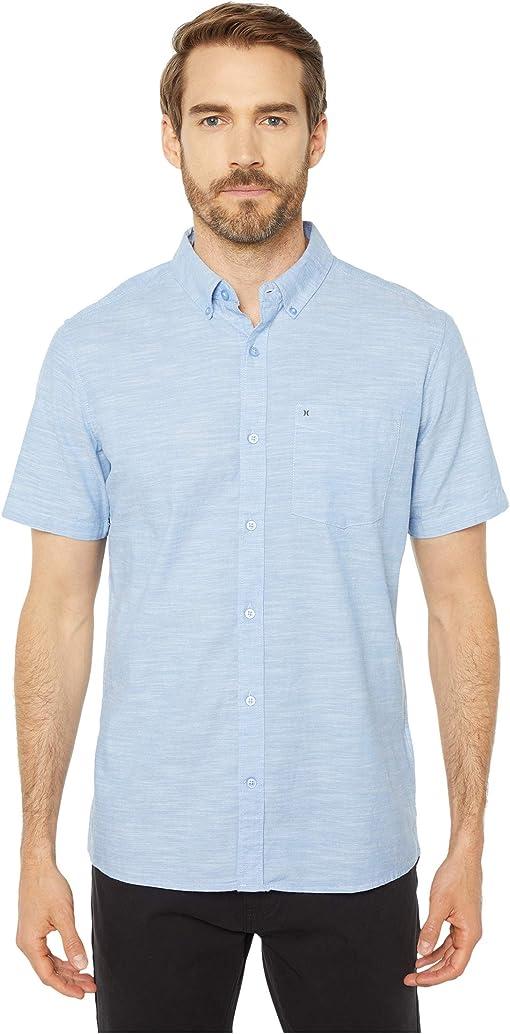 Blue Oxford