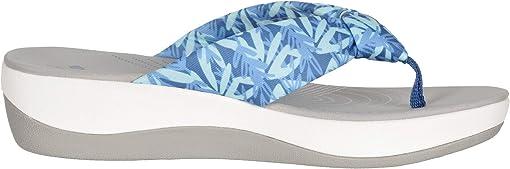 Blue/Mint Floral Textile