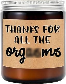 شموع معطرة برائحة اللافندر من جي إس بي واي - هدايا عيد الحب له - هدايا للزوج، هدايا للصديق أو الأصدقاء - الذكرى السنوية أو...