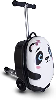 "Zinc Flyte Kids 18"" Luggage Scooter Panda 10"""