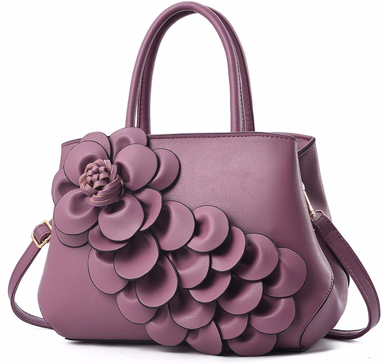 GQFGYYL Neuer großer Handtasche einheitlichen Schulter schräg schräg schräg Tasche,lila B07GL3PNCX  Schönheit ohne Grenzen 8464f4