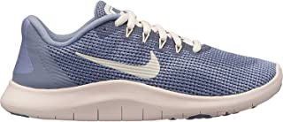 NIKE Girl's Flex RN 2018 Running Shoe Ashen Slate/Guava Ice/Diffused Blue Size 7 M US