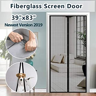 IKSTAR [Upgrade Fiberglass Mesh Magnetic Screen Door 39