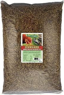 NaturesPeck Sunworms AKA Black Soldier Fly Larvae (11 lbs)