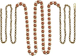 Vidhya Kangan Belly Chains for Women (Pink) (bro178)