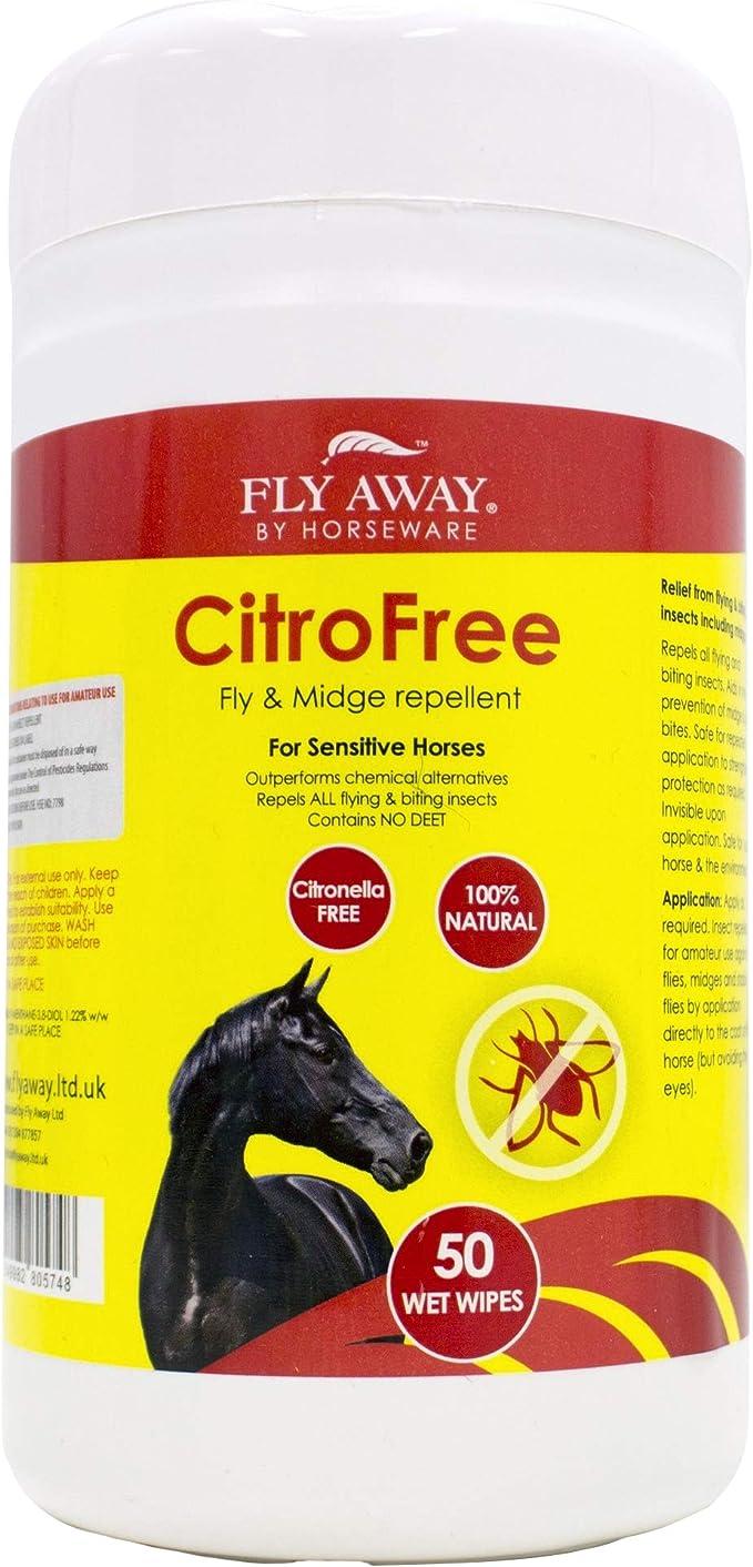 Fly Away Pferde Feuchttücher zur Abwehr von Fliegen und Insekten ...