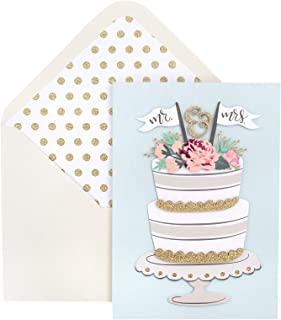 Crate Paper 355427 Greeting Card, Mrs Cake