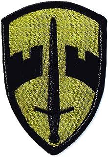 刺繍ワッペン ミリタリーパッチ 米陸軍野戦用 ベトナム軍援助司令部OD