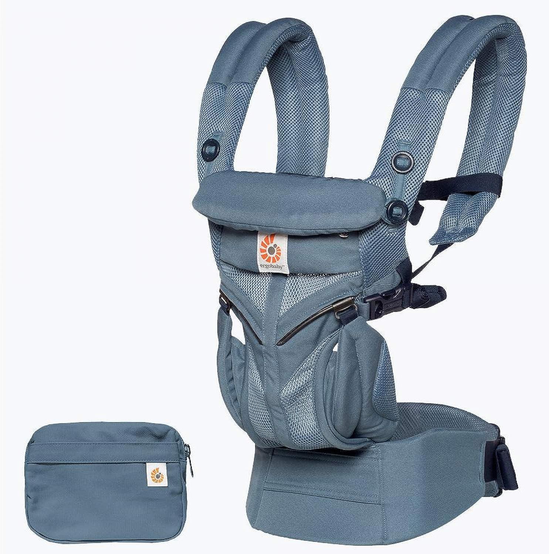 ErgoBaby Omni 360 Baby Carrier Mesh Oxford bluee