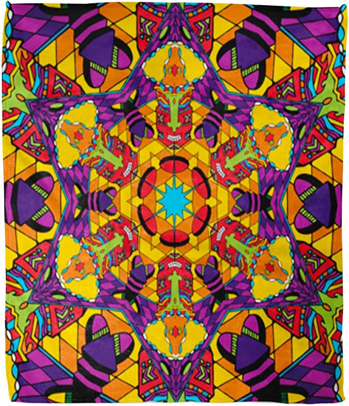 Block Of Gear™ Hippie Quilt Daughter Of Sun And Moon Quilt