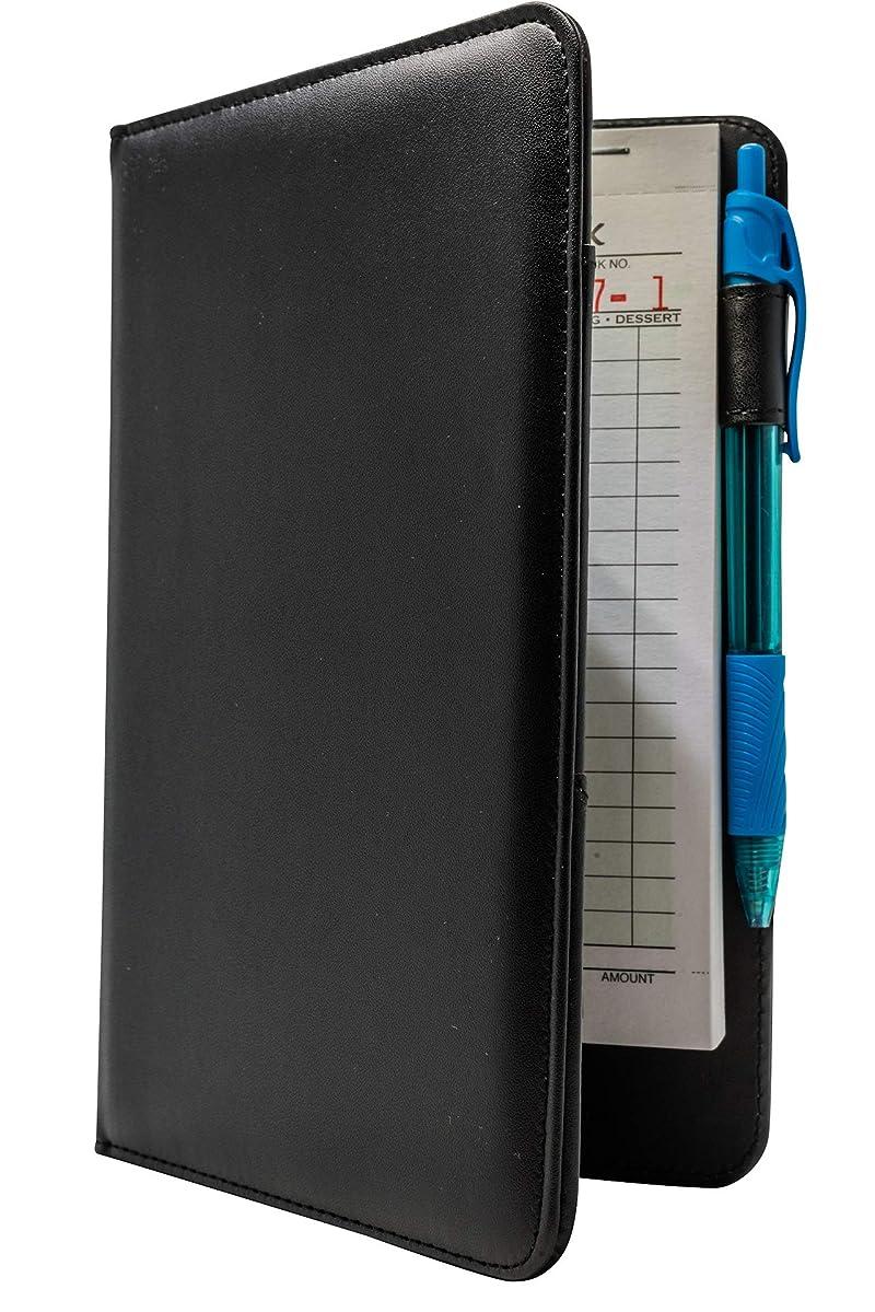 SERVER BOOK Brand Server Organizer/Server Wallet for Waiters and Waitresses (Black)
