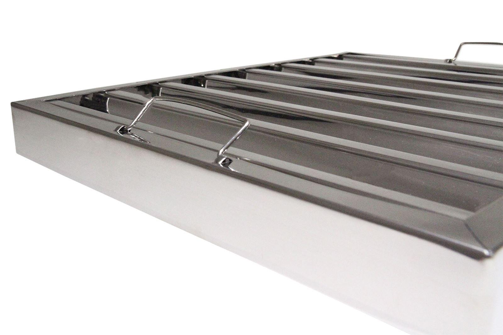 3 x toldo grasa cuadrícula Filtro campana extractora de cocina acero inoxidable 395 x 495 mm: Amazon.es: Hogar